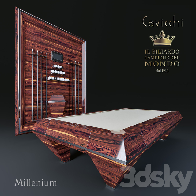 Pool table Cavicchi millenium