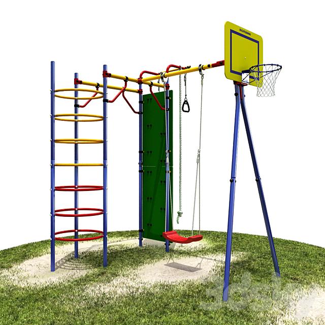 Suburban sportivnsq game complex