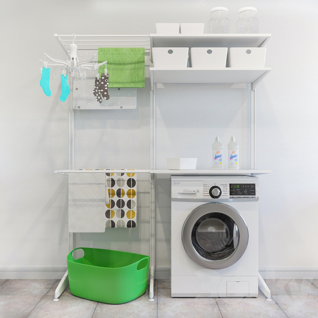 Algot IKEA Storage System / Washer / Dryer