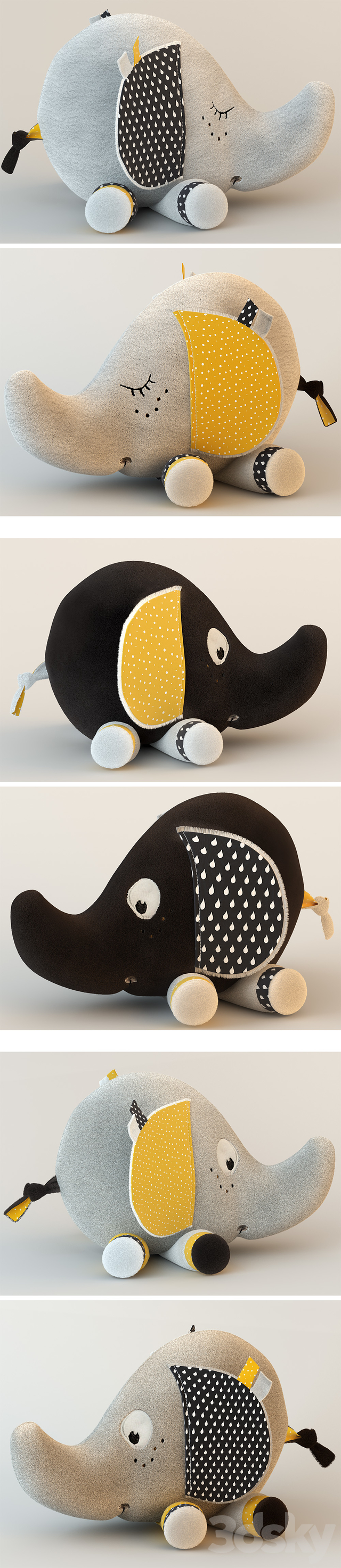 Sauthon Elephant-Toys from Babyfan collection