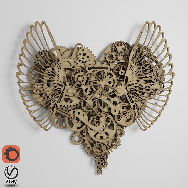 "Panels ""Clockwork Love"""