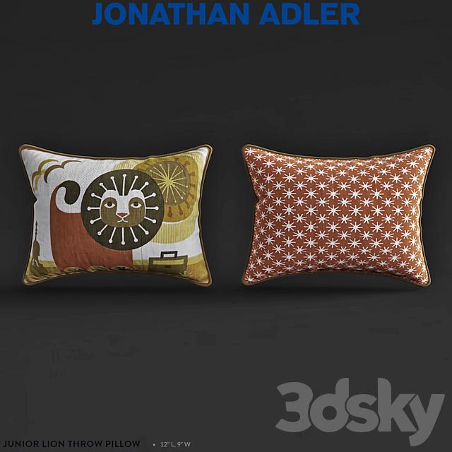 Jonathan Adler Junior LionTHROW Pillow