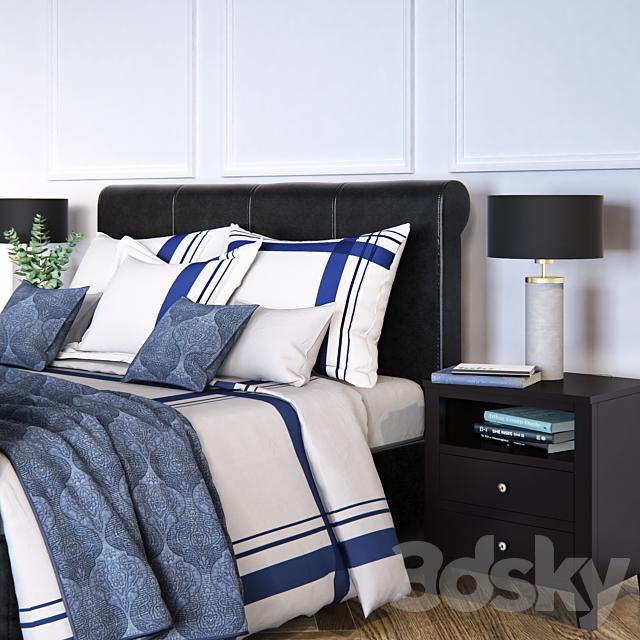 Kingsley Upholstered Storage Sleigh Bed