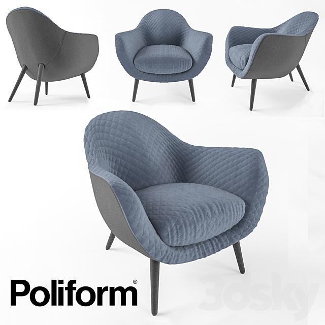 Armchair Poliform Mad Queen