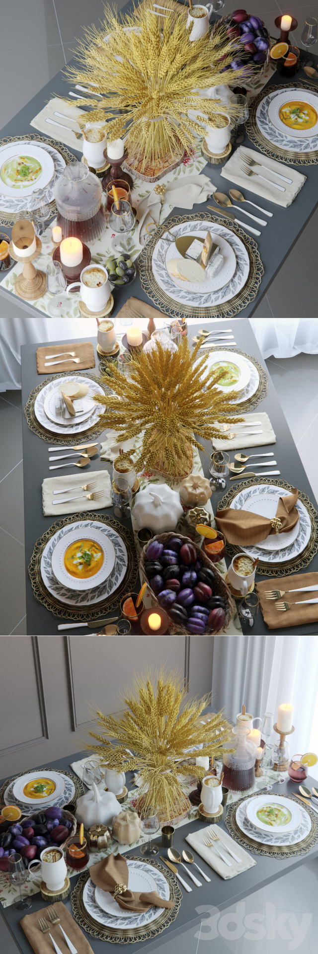 Table setting 19