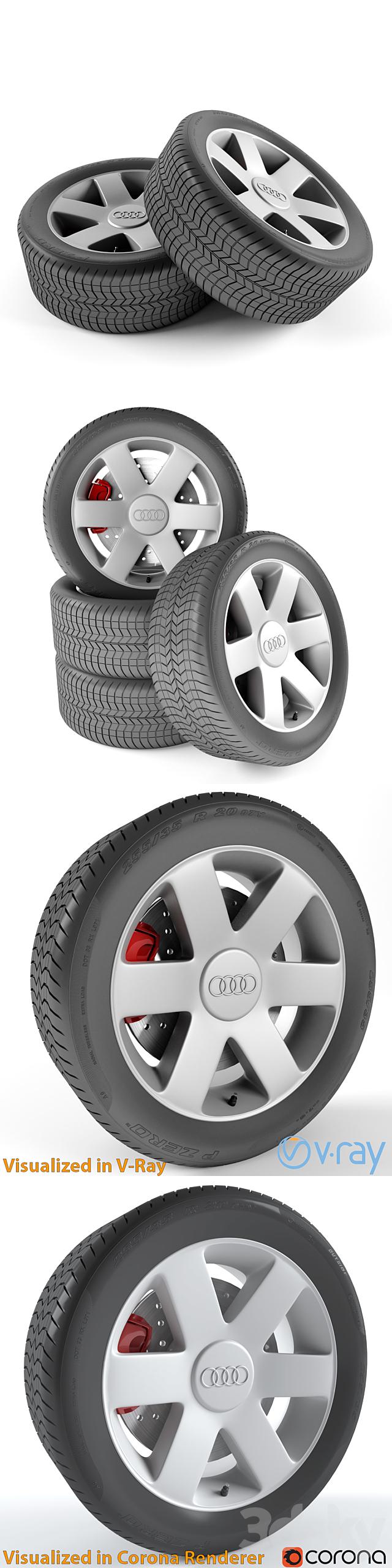 Audi A2 wheel