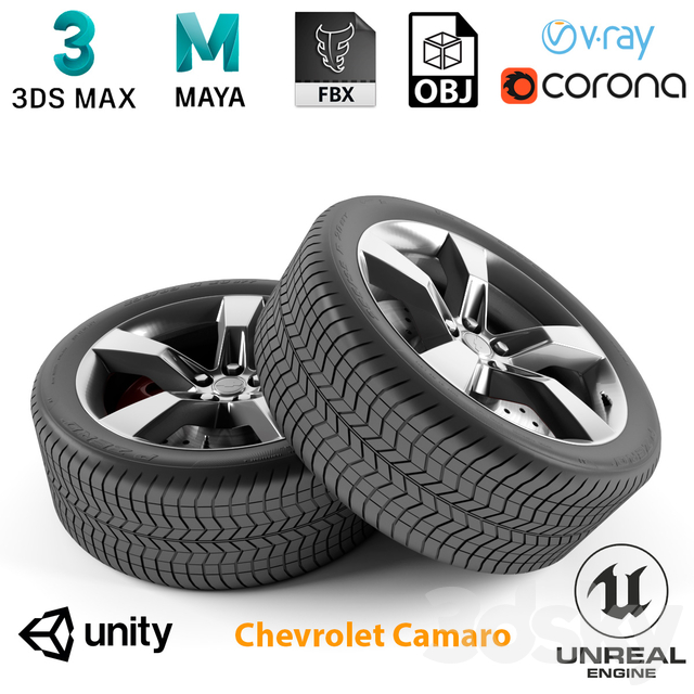 Chevrolet Camaro Wheel