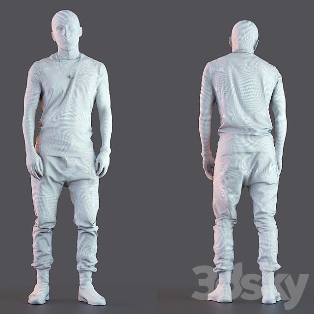 3d scan man