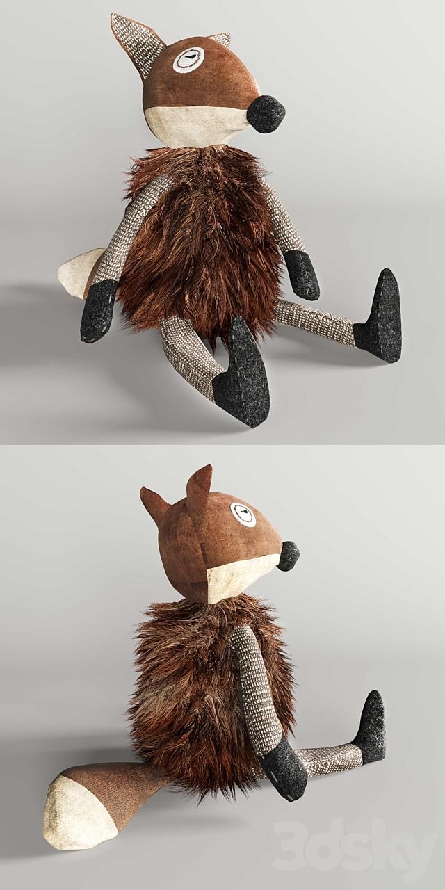 WOOLY plush fox