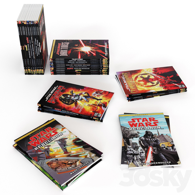 Books Star Wars Masters