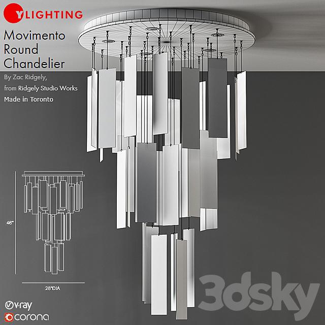 Movimento Round Chandelier