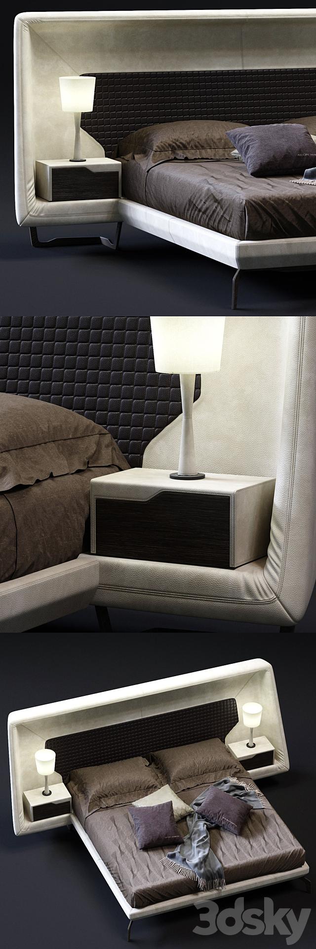 3d Models Bed Aston Martin V146 Bed