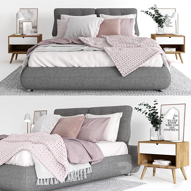 Models Bed Scandinavian Bedroom