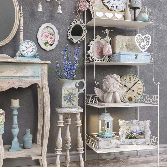 "Decorative set ""Provence"""