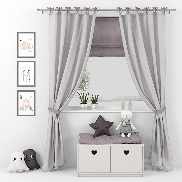 Curtain and decor 12