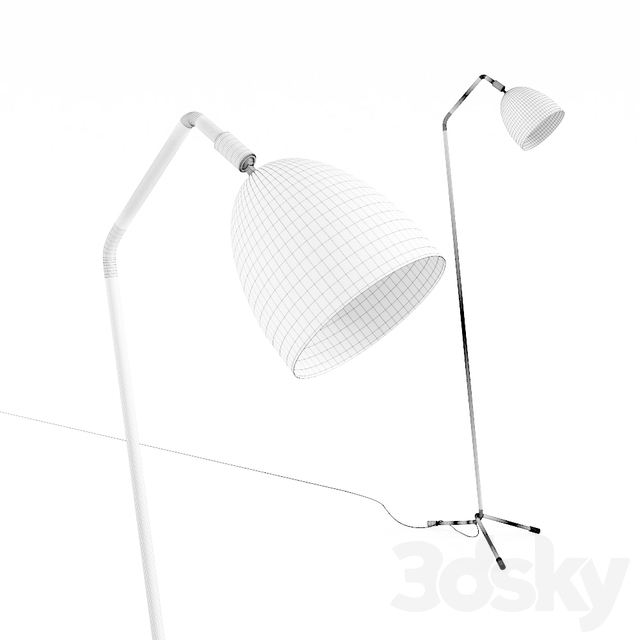 Kare Floor Lamp Knit