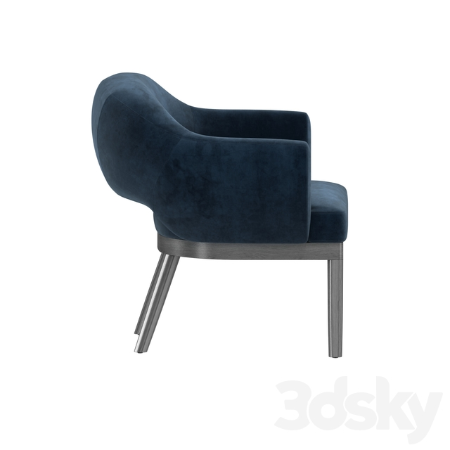 Gumi bergere chair by gotham