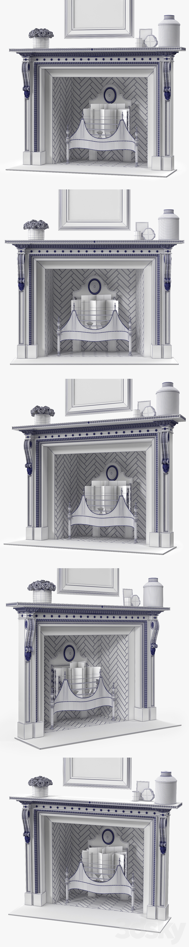 Chesneys The Locke Fireplace