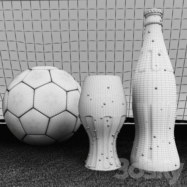Football and Coca-Cola
