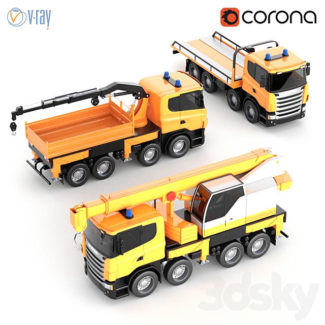 Scania Toy Car Kit
