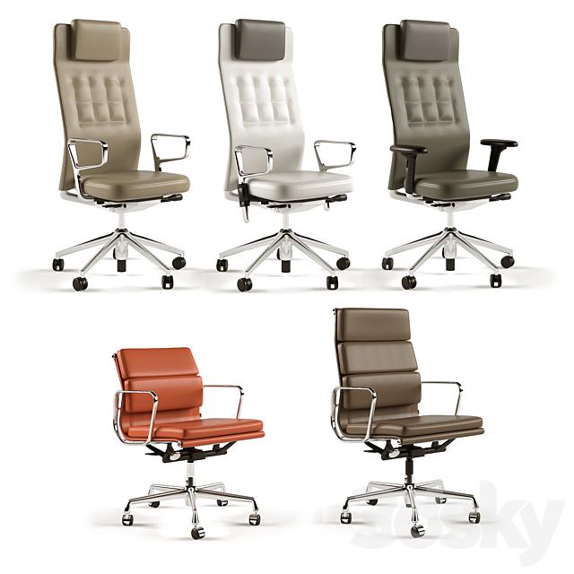 Vitra armchairs