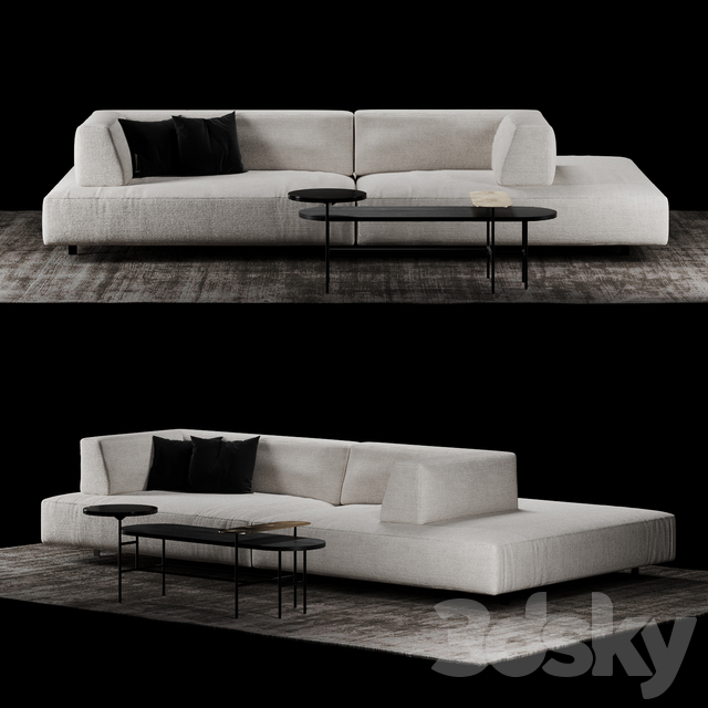 Models Sofa Living Divani Metro 2
