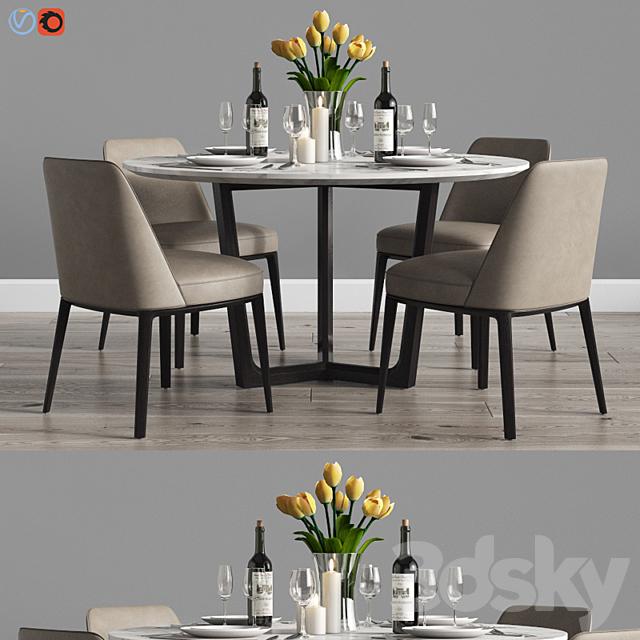 Modern Dinning Set 8