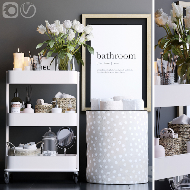 Shelving in the bathroom 10