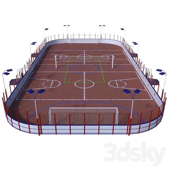Universal sports field