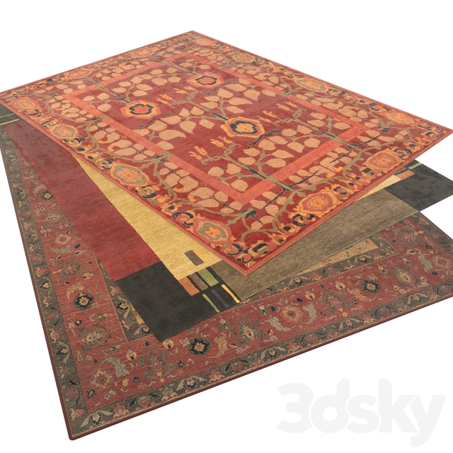 Tufenkian carpet collection