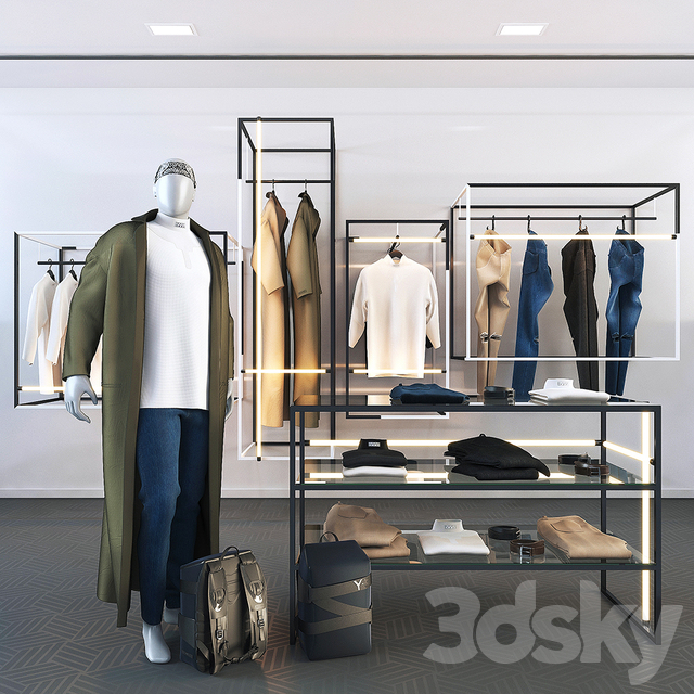 Clothing and accessories for the store