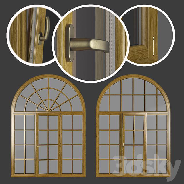 Wood - aluminum windows, view 05 part 02 set 09