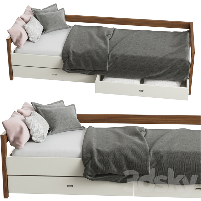 Children's bed DAYBED LARGE from MINT FACTORY