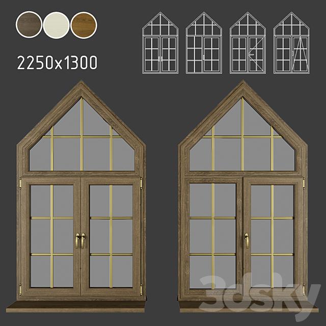 Wood - aluminum windows, view 04 part 03 set 05