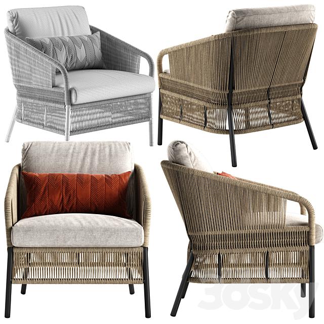 Varaschin Cricket lounge armchair