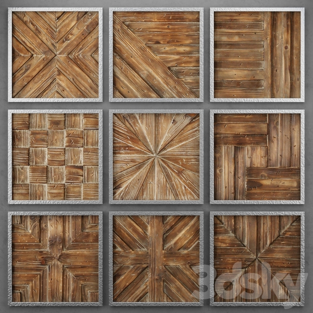 Wood panels from Uttermost