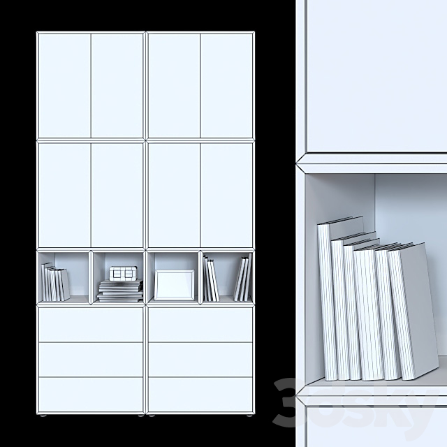 Cabinets IKEA Eket 2 (6 color options).