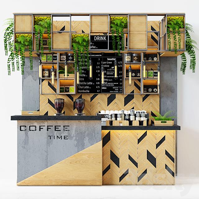 3d Models Restaurant Coffeeshop Loft 2