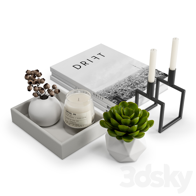 Coffee Table Decor Set 1