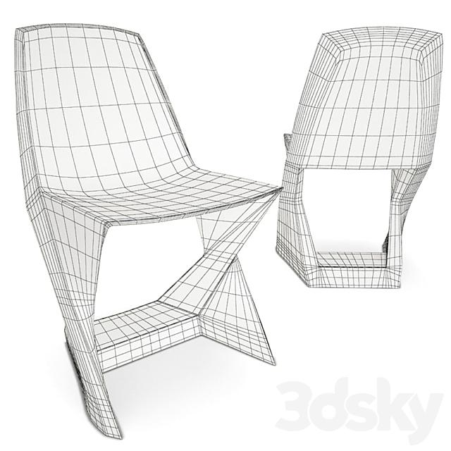 Plastic Chair Iso