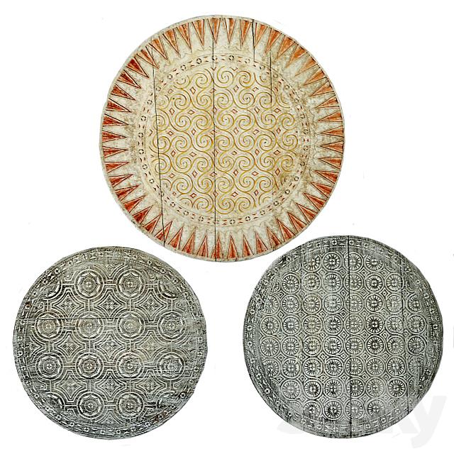 Toraja Carved Wood Panels