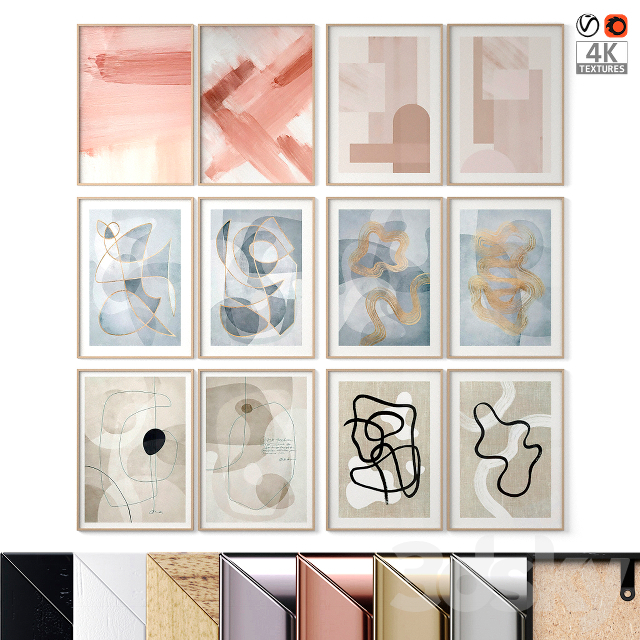 Abstract Posters Set 14