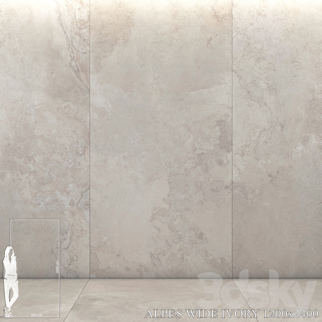 ABK Alpes Wide Ivory 1200x2400
