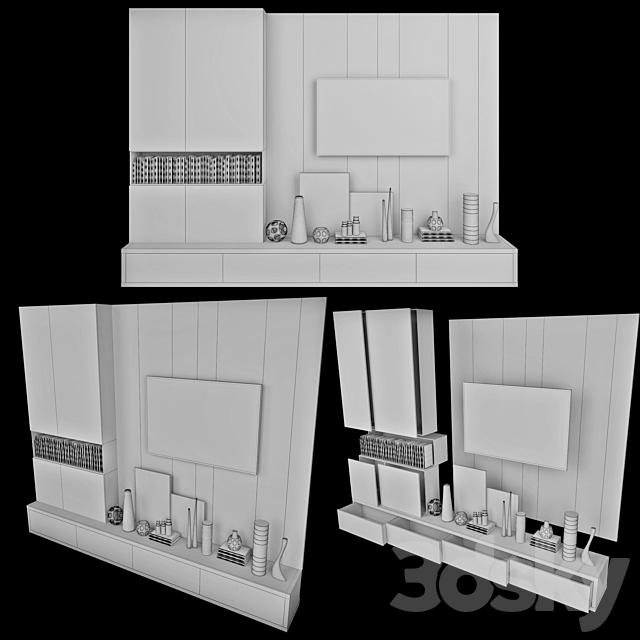 TV Wall   set 19
