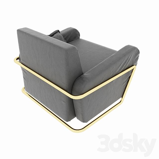 Minimalism style armchair