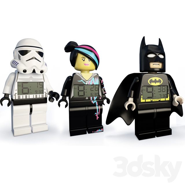 Child Alarm Clocks Lego