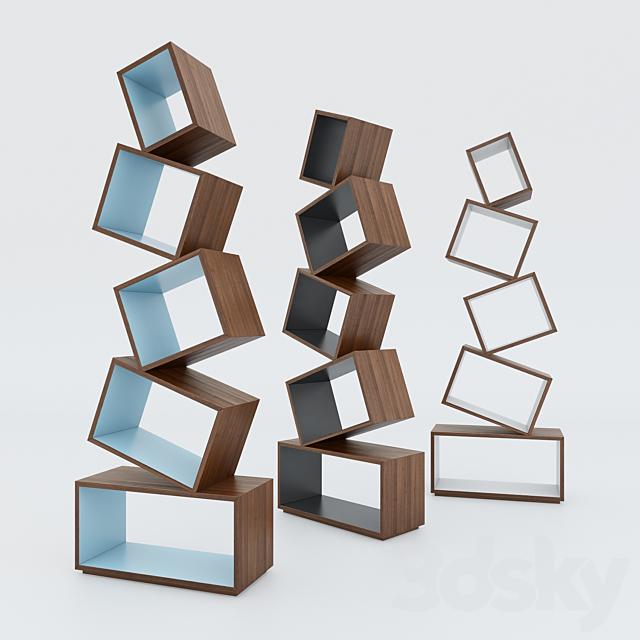 Equilibrium Bookshelf by Malagana Design