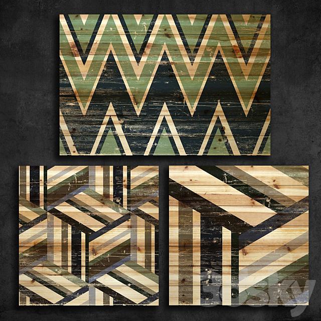 Wood paneling 91