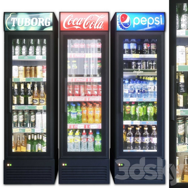 Showcase 002. Refrigerator