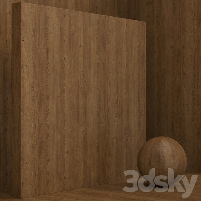 Material wood / pine (seamless) - set 70